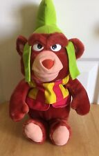 Disney Gummi Bears Gruffi Fisher Price Plush 1985 7005 Vintage