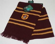 HARRY POTTER Fantasy Movie Novel GRYFFINDOR CREST Lambs Wool SCARF NECKWEAR New
