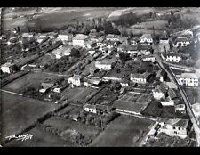 MONLEON-MAGNOAC (65) VILLAS en vue aérienne en 1961