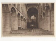 Hereford Cathedral Vintage Postcard 066a