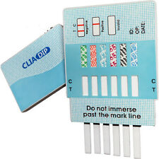 10 Pack 6 Panel Urine Dip Instant Drug Test Strips Kit FDA Free Shipping