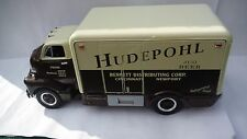 HUDEPOHL BREWING CO. BEER TRUCK  1/34 SCALE 1952 INSULATED GMC VAN