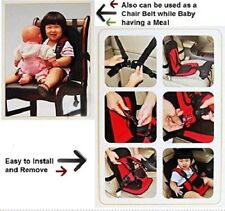 Kids Multi-function Car Cushion Adjustable Baby Seat with Safety Belt For Babies