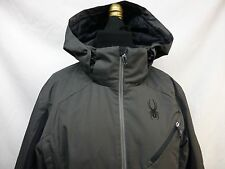New SPYDER Quest Mens JACKET~~~ Size-L CHARCOAL GRAY WITH TAGS~~~