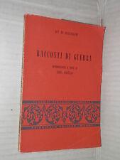 RACCONTI DI GUERRA Guy De Maupassant Edda Borello Principato 1967 romanzo libro
