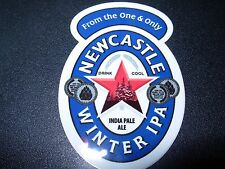 "NEWCASTLE WINTER IPA 3"" Logo STICKER decal craft beer brewery brewing"