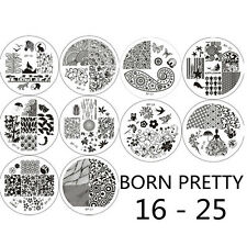 BORN PRETTY 10pcs/Set Nail Art Stamping Plates Image Stamp Template  #16 - 25