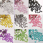 Wholesale 1000pcs Acrylic Rhinestone Half Round Flatback Beads For DIY Craft