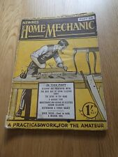 Vintage Newnes Home Mechanic Part 28 Practical Work for Amateur (Molloy Edward)