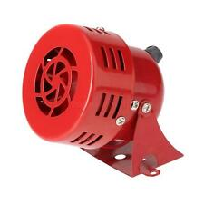 New 12V Loud Car Auto Truck Electric Vehicle Horn Sound Level 110DB Metal Red