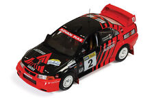 MITSUBISHI LANCER EVO VI #2 Winner Rally of Canberra 1999 RAM514 IXO 1:43 New