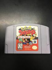 POKEMON SNAP N64 Not For Resale Nintendo 64  RARE  64 USED WORK GREAT AUTHENTIC