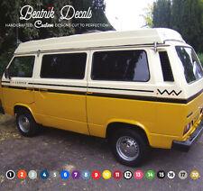 VW Volkswagen T25 / T3 Side Stripe Sticker Decal Aztec Graphic Camper Van Colour