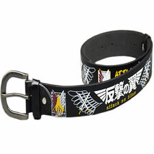 Attack On Titan Anime Eren Training Corps Logo Leatheroid Belt Cosplay Gift toy