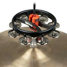 Drums Sets Rhythm Tech Hat Trick Tambourine G2 for hi-hat stand RT7420 Nickel
