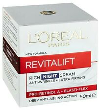 Loreal REVITALIFT 50ml Night Cream Deep Anti-Ageing wrinkle OzHealthExperts