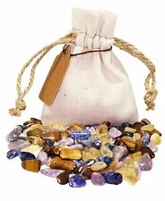 Logical Thinking Power Pouch Healing Crystals Stones Tumbled Natural Gemstones