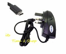 NEW NINTENDO DS LITE NDS NDSL DSL CE MAINS WALL CHARGER ADAPTER  PLUG UK