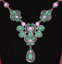 NEW Fashion Jewelry Chunky Bib Statement Pendant Chain Choker Necklace