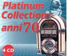 AA.VV. PLATINUM COLLECTION ANNI 70 CD  SEALED SIGILLATO FOGLI BERTOLI PUPO