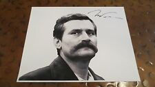 Lech Walesa signed autographed photo President of Poland labor activist Nobel
