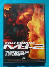 MISSION IMPOSSIBLE II (M:I-2) DVD, Tom Cruise, Thandie Newton, Dougray Scott