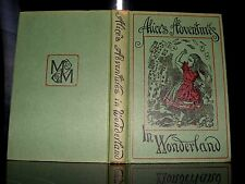 Lewis Carroll - Alice's Adventures In Wonderland, HB, DATED 1965  macmillan