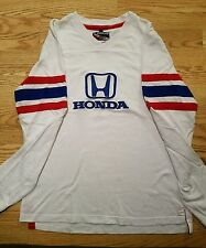 Honda Embroidered SpeedGear Authentic RaceWear Long sleeve T-Shirt Large