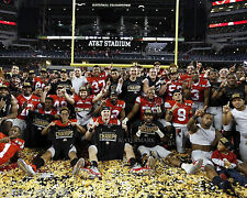OHIO STATE BUCKEYES 2015 NATIONAL CHAMPIONSHIP TEAM 11x14 PHOTO