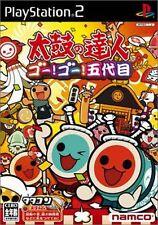 USED Taiko no Tatsujin 5 Japan Import PS2