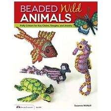 Beaded Wild Animals: Puffy Critters for Key Chains, Dangles, and Jewel-ExLibrary