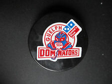 2000-06 GUELPH DOMINATORS OFFICIAL OHL GAME PUCK
