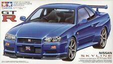 TAMIYA 24210 Nissan Skyline GT-R V-spec R34 1:24 Car Model Kit - PREORDER