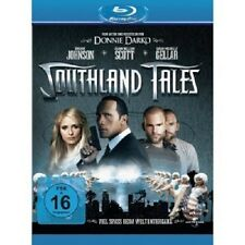 SOUTHLAND TALES BLU-RAY NEU DWAYNE (THE ROCK) JOHNSON,SARAH MICHELLE GELLAR,SE