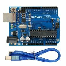 OSOYOO UNO R3 Development Board ATmega328P ATmega16U2 for Arduino &  USB Cable