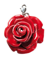 rote Rose BIG Charm RICO Design 7090.95.20 Tracht Blume Blüte RBC57