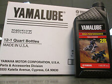 Yamalube Genuine Oil 6 Quarts 2R Banshee YZ125 YZ250 2 Stroke Mixing Oil L@@K