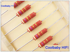 50PCS VISHAY BC Components PR03 4.7R/3W 5% 5*17mm Power METAL FILM RESISTOR
