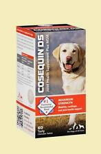COSEQUIN DS JOINT HEALTH SUPPLEMENT Maximum Strength 60 Tasty Chewables Dogs