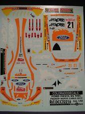 DECALS 1/32 FORD FIESTA RS WRC #21 PROKOP - MONTE CARLO 2015 - COLORADO 32216