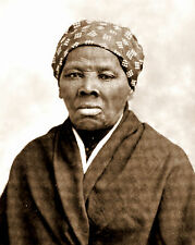 1895 Photo Harriet Tubman used Underground Railroad to Unslave during Civil War