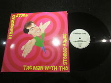 """STRAWBERRY STORY """"THE MAN WITH THE STEREO HANDS"""" 1991 12"""" (SHOEGAZER, INDIE)"""