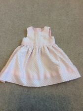 Beautiful Baby Girls Dress 0-3 Months George Pink Floral Pretty