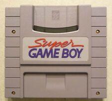 SNES Super Gameboy Super Nintendo Adapter Game Boy Rare
