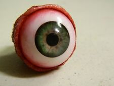 HALLOWEEN HORROR PROP EYEBALL POPPERS for skull or mask Green