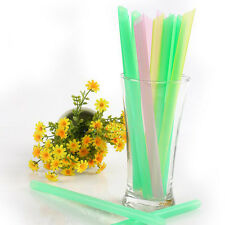 Utility 33Pcs Bubble Tea Fat Dringking Party Smoothies Jumbo Thick Drink Straws