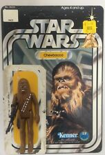 Vintage 1977 Original Star Wars Chewbacca Complete With Original 12 Back Card!