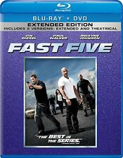 Fast Five Extended Edition Blu-ray+DVD