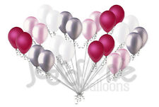 24pc Magenta & Pink Latex Balloons Party Decoration Baby Shower Wedding Birthday