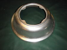 ANTIQUE BARBER CHAIR PART-----THE BOTTOM PUMP COVER FOR KOKEN WOOD CHAIR